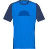 Norrøna Fjørå Equaliser Lightweight T-Shirt Men Indigo Night/Hot Sapphire
